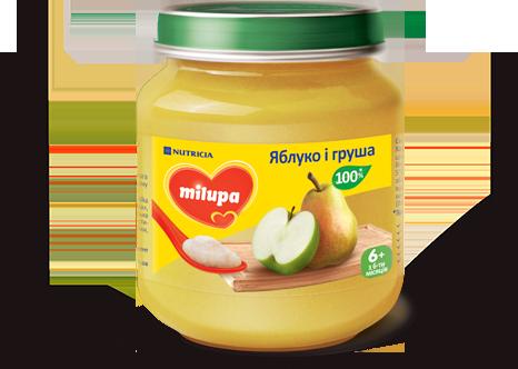 Пюре Milupa «Яблуко і груша»